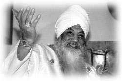 Yogi Bhajan, master of Kundalini Yoga